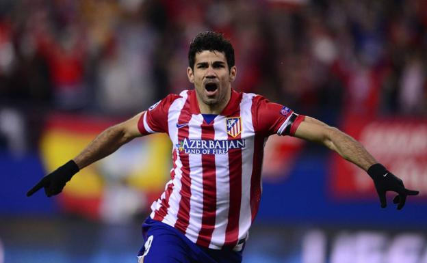 Diego Costa regresa al Atlético.