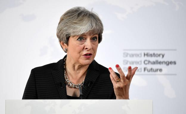 Theresa May, primera ministra británica./Reuters
