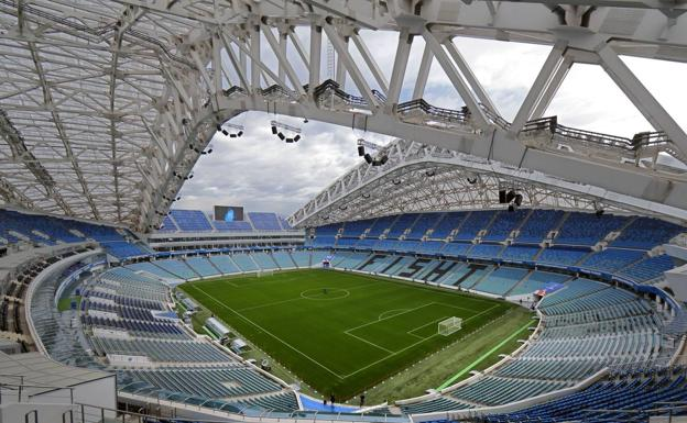 Estadio de Sochi. /Efe