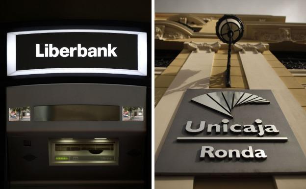Unicaja y Liberbank negocian fusionarse