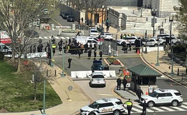 Cierran Capitolio de EE. UU. por amenaza a la seguridad externa