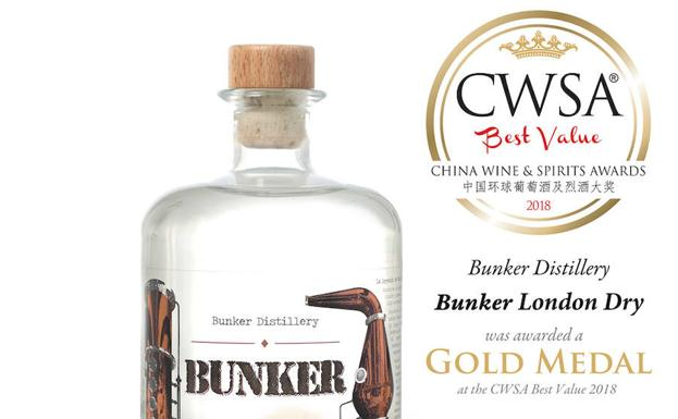 Bunker gana en China el Wine and Spirits Awards Best Value 2018