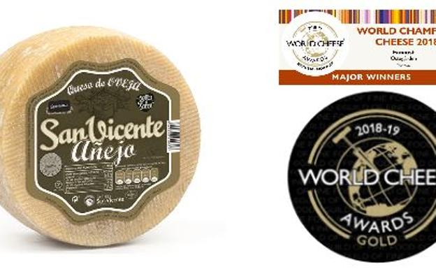 Lácteas San Vicente recibe seis medallas en los World Cheese Awards