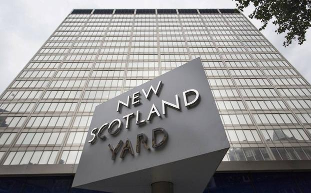 Sede de Scotland Yard. /AFP
