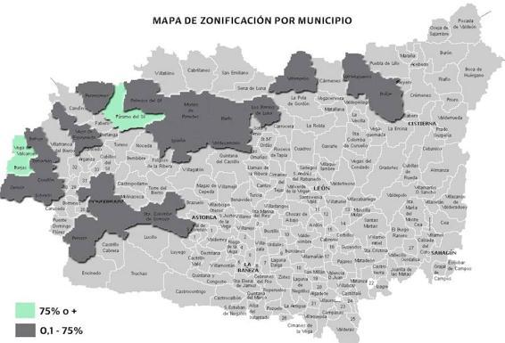 Mapa Del Radon En Espana.El Consejo De Seguridad Nuclear Apunta A Tres Municipios Leoneses Por Alta Exposicion De Su Poblacion A Gas Radon Leonoticias