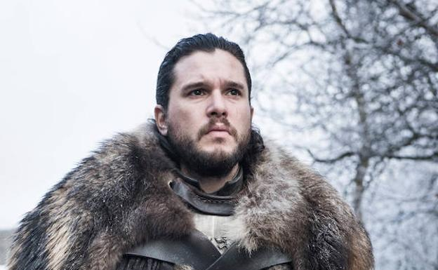 Kit Harington es Jon Nieve.