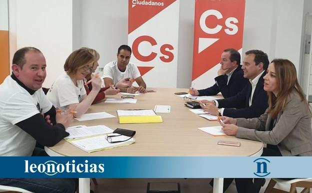 Ciudadanos traslada su apoyo a los autónomos de San Andrés del Rabanedo - leonoticias.com