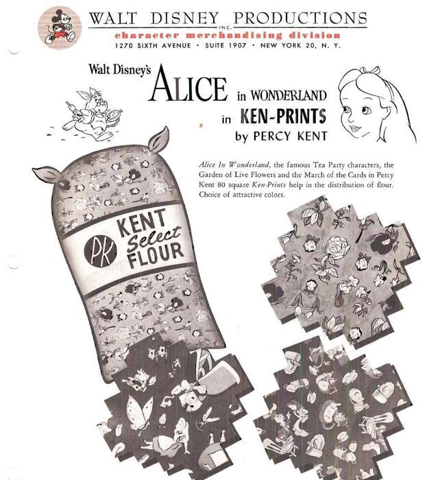 Los motivos de 'Alice' aportados por Disney.