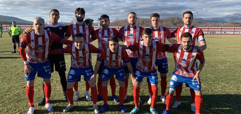 Once inicial del Atlético Bembibre ante el Becerril.