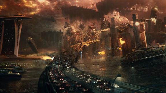 Escena en exclusiva de 'Independence Day: Contraataque'./